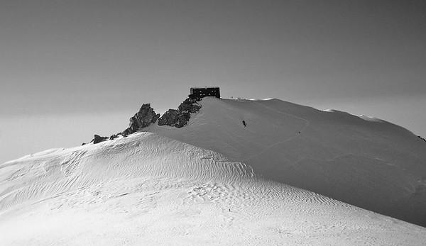 Capanna Margherita, Punta Gniffetti (4.554m), Monte Rosa