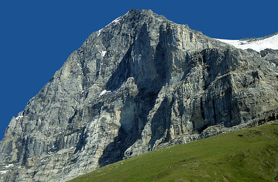 Eiger North face (3.970m) from Kleine Scheidegg, Oberland, Switzerland