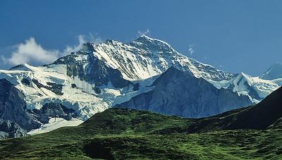 Jungfrau (4.158m) from Kleine Scheidegg, Oberland, Switzerland