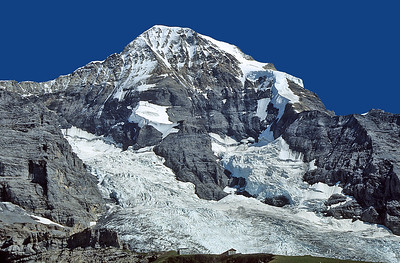 Mönch (4.105m) from Kleine Scheidegg, Oberland, Switzerland
