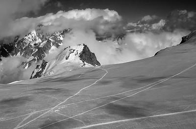 Vallée Blanche, Mont Blanc, France
