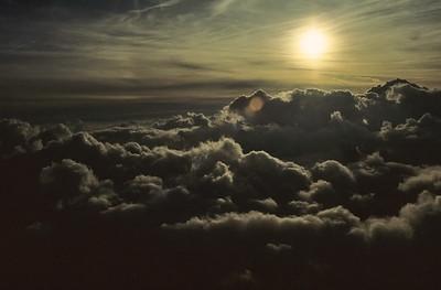 Sunrise, Mont Blanc du Tacul, France