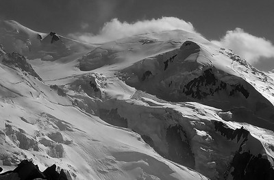 Dôme du Goûter (4.304m), Mont Blanc, France
