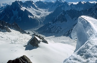 Mont Blanc du Tacul summit (4.248m), France