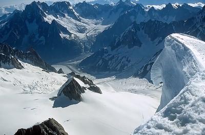 Mont Blanc du Tacul summit (4.248m), France