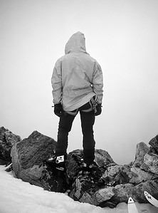 Summit of Punta Giordani (4.046m), Monte Rosa, Italy