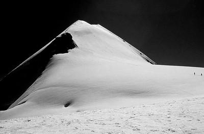 Parrotspitze (4.432m), Monte Rosa, Italy