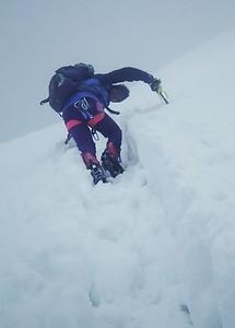 Me climbing Eastern Breithorn (4.139m), Italy