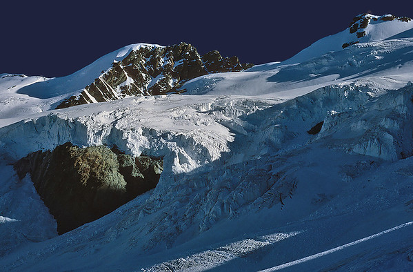 Eastern Breithorn (4.139m) and Breithorn Zwillinge (4.106m), Italy
