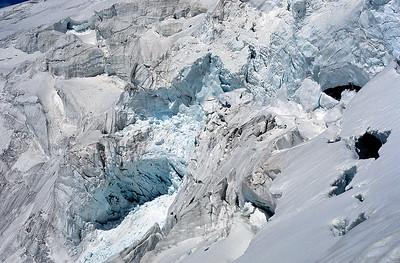Roccia Nera glacier, Italy