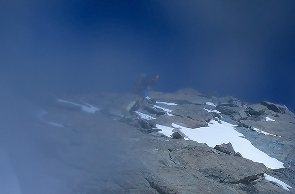 Me before summiting Breithorn Zwillinge (4.106m), Italy