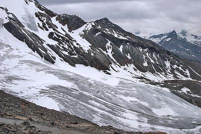 Weissmies glacier, Valais, Switzerland