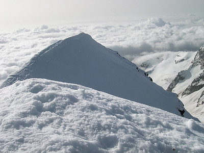Weissmies summit (4.023m), Valais, Switzerland