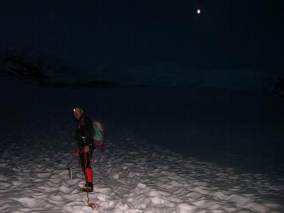 Climbing Weissmies (4.023m), Valais, Switzerland