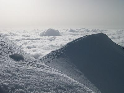 Weissmies summit (4.023m), Valais, Switzerland