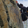 Descending Isla Persa, back from Piz Bernina, Switzerland