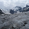 Morteratsch glacier, Bernina range, Switzerland