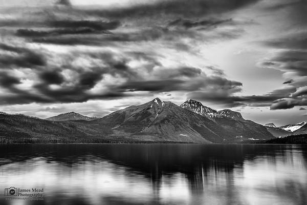 """Alpine Chaos,"" Lake McDonald Sunset, Glaicer National Park"