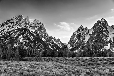 """Rustic Visions,"" Cascade Canyon, Grand Teton National Park"