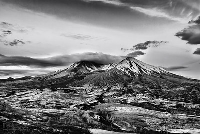 """Defiance,"" 35th Anniversary Dawn, Mt St Helens National Volcanic Monument, Washington"