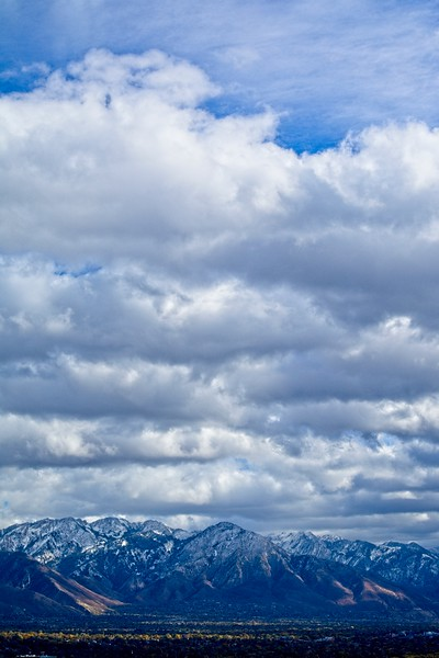 The Wasatch Mountains East of Salt Lake City, Utah