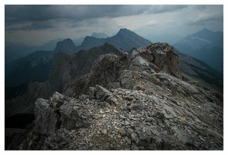 Summit ridge of Lawrence Grassi