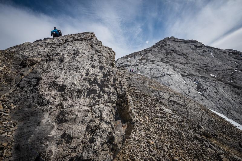 Mt Fable and Gap Peak