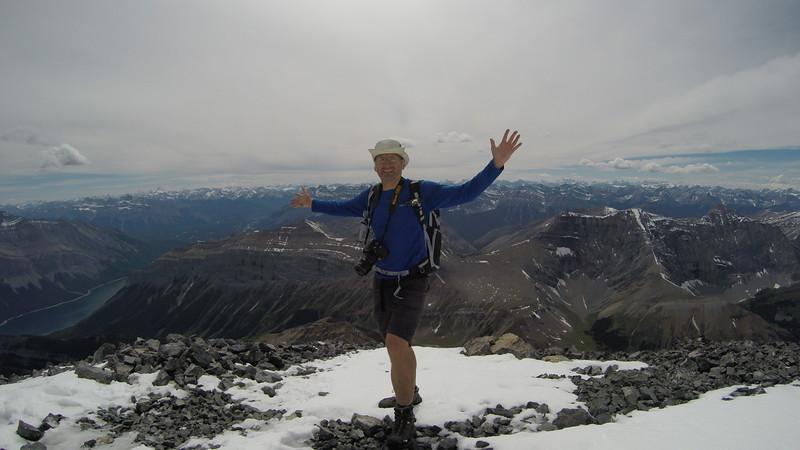 On top of Mt Aylmer