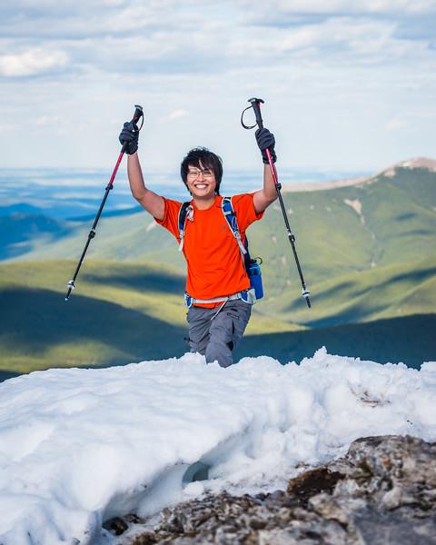 Jeff's first summit