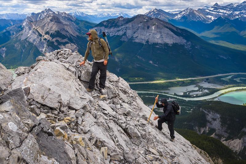 Upper ridge on Gap Peak