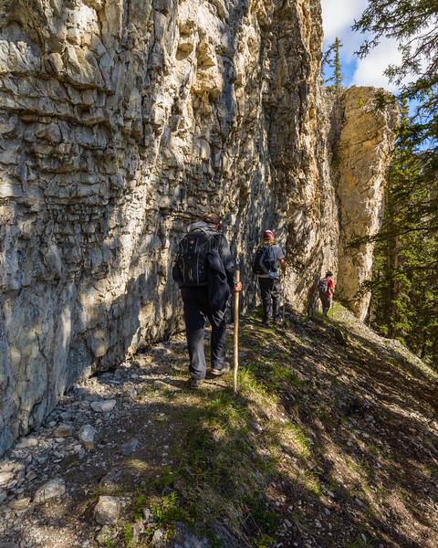 First cliffband