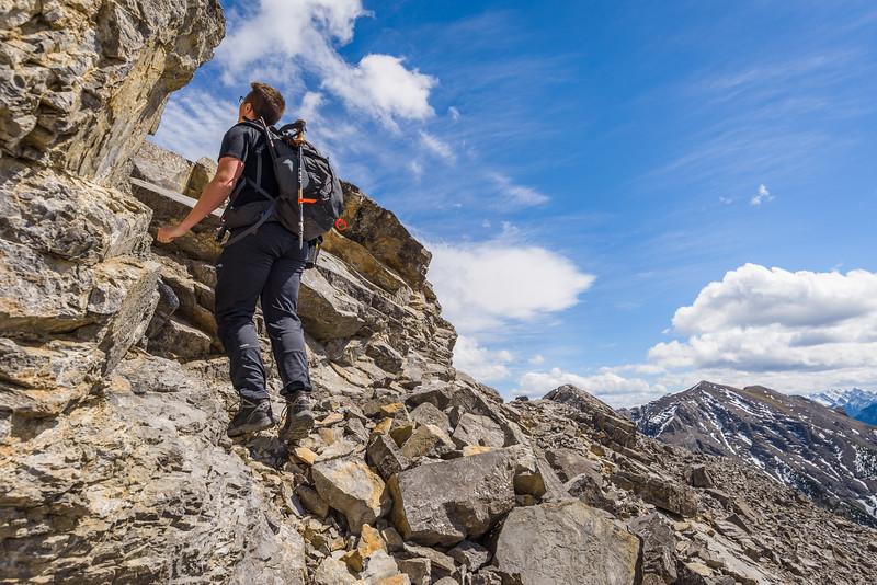Peaking for the peak.