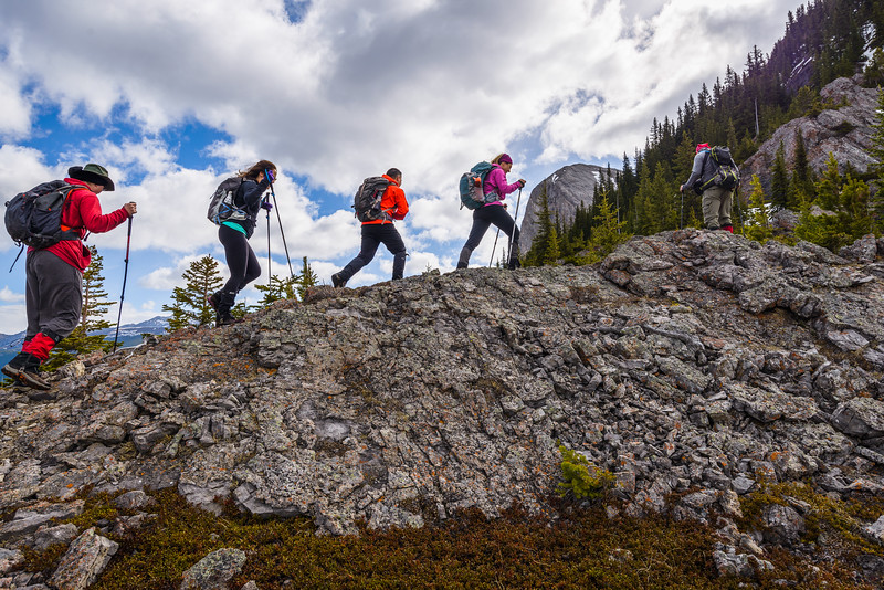Hiking lineup