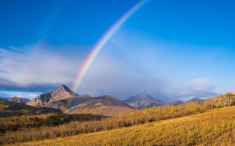 Love the rainbow view..