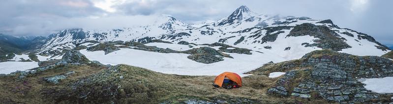 Tent place