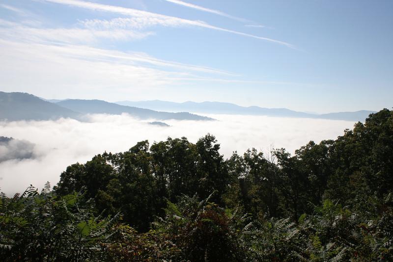 Blue Ridge Park: Asheville to Mount Mitchell 10/05/2013