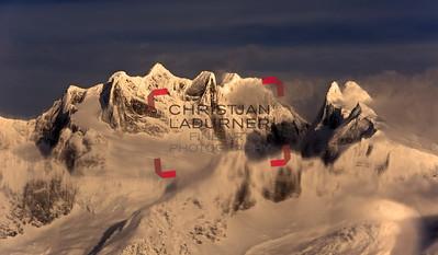 Adamant mountain range
