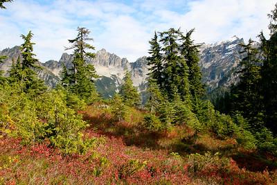 Columbia Peak, 10-10-2009