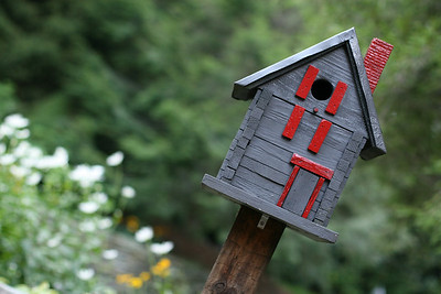 birdhouse angled
