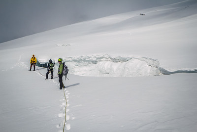 On Mullwitzkees Glacier