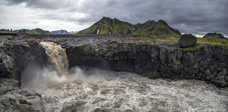 Raging Waterfall