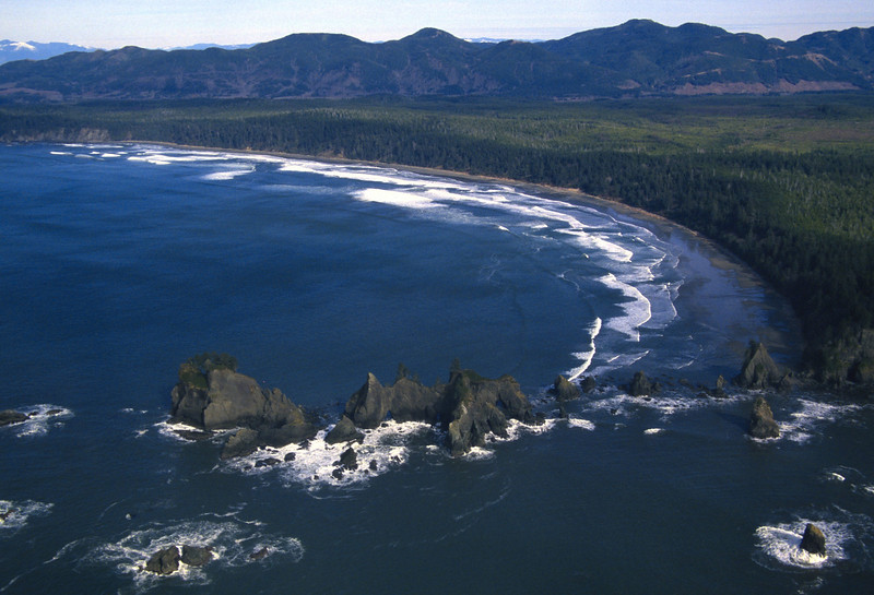 The Washington state Pacific coast is a neat, rugged, and very remote place