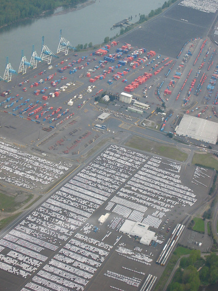 Tacoma shipping area, with all those little white dots...