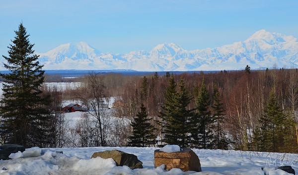 Mt. Hunter, Mt. Foraker & Denali, Alaska