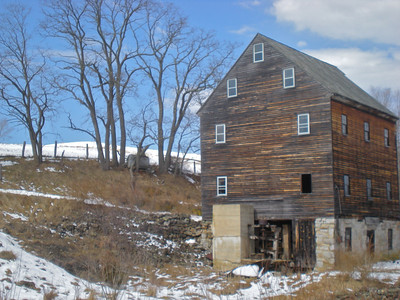Old mill in Blue Grass, VA