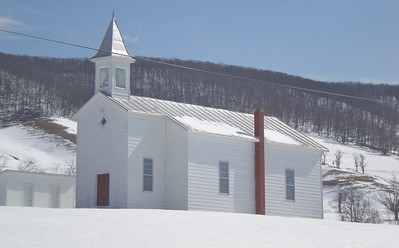 Another plain but pretty church in Highland County, VA.