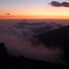 Spectacular sunsets from the hut