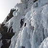 Ice Climbing Cascada de los Militares, Sierra Nevada