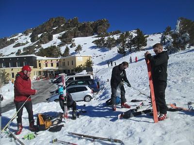 Icy Ski Touring 24 and 25 Feb 2015