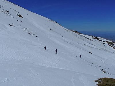 Ski Tour Cerro de Caballo 15 April 2014